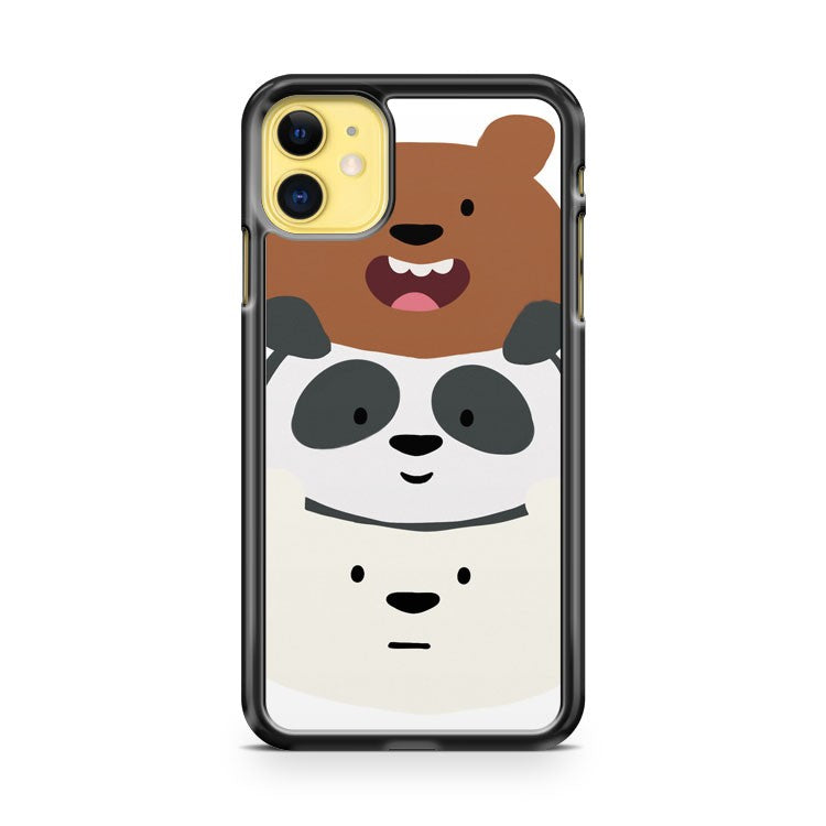 Bear Stack iPhone 11 Case Cover | Oramicase