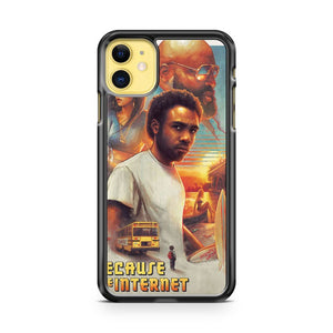 Because The Internet Poster Childish Gambino iPhone 11 Case Cover | Oramicase