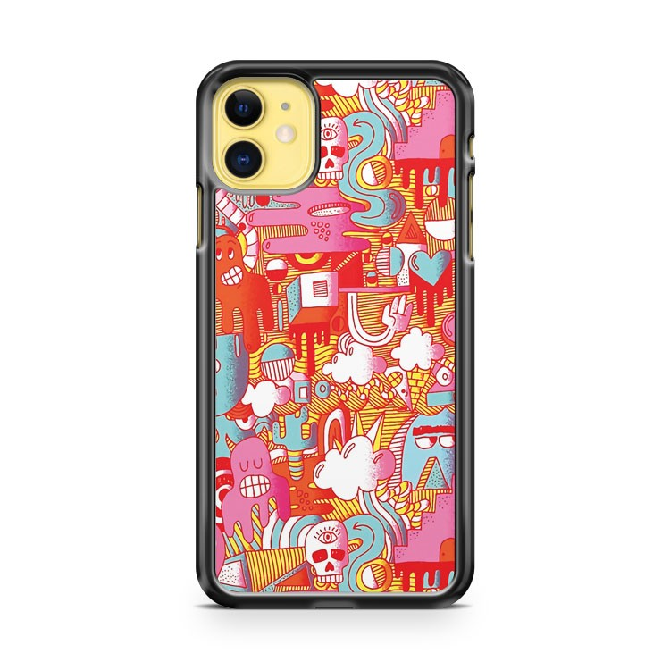 BEEBLEE DOOP iPhone 11 Case Cover | Oramicase