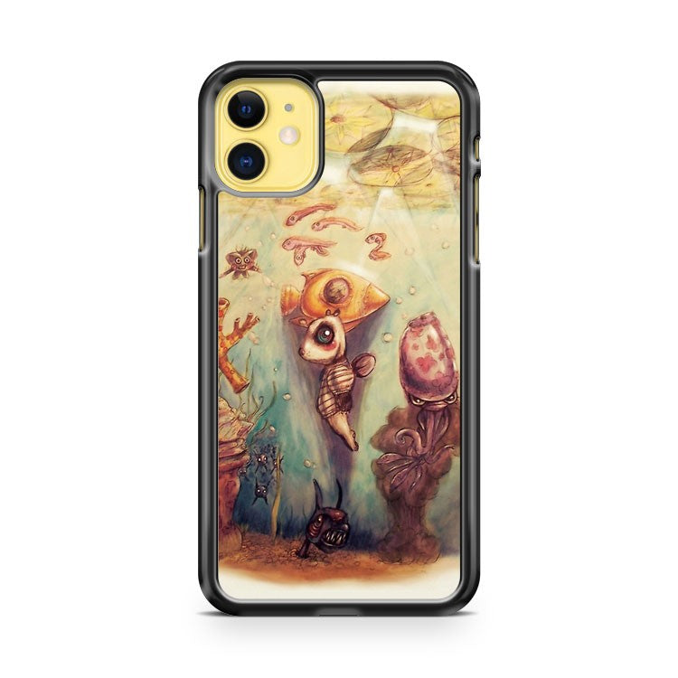 BELOW THE SURFACE iPhone 11 Case Cover | Oramicase