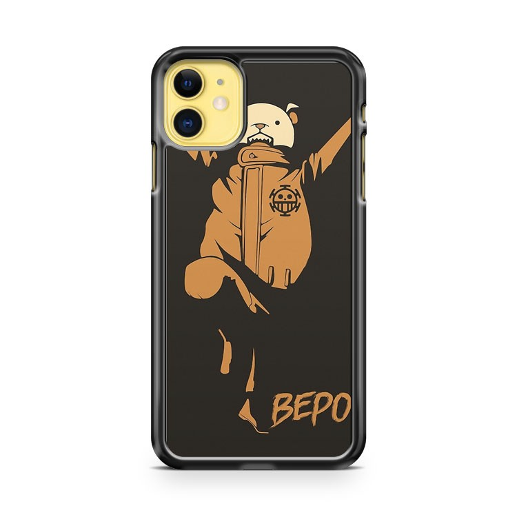 Bepo Heart Pirate One Piece iPhone 11 Case Cover | Oramicase