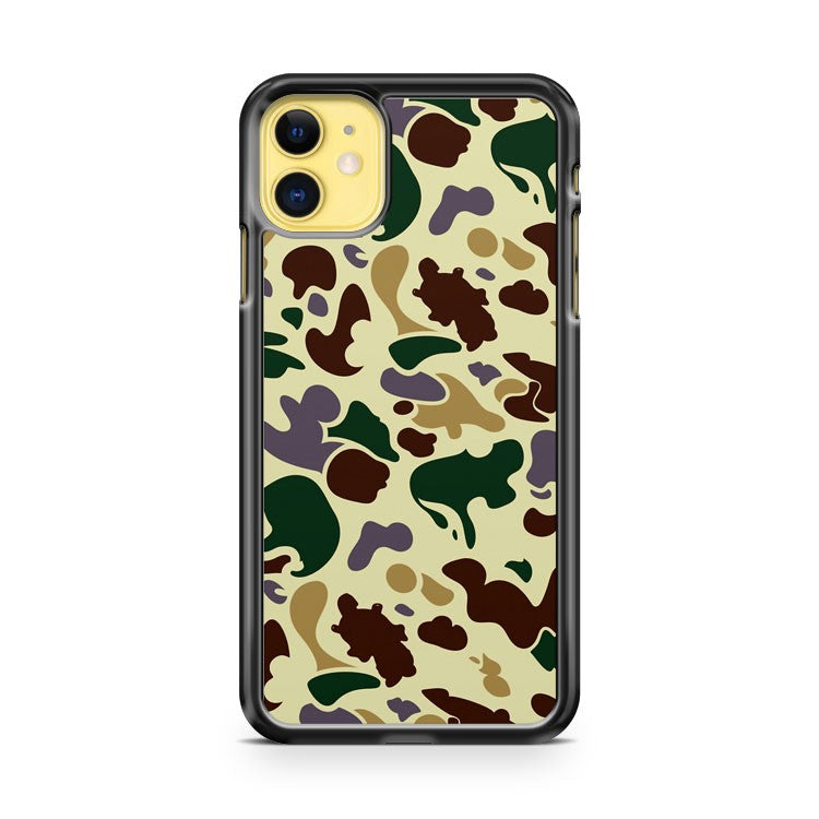 Cool Camo Pattern iPhone 11 Case Cover | Oramicase
