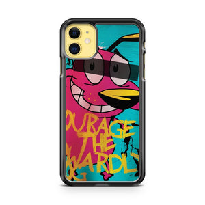 Courage The Cowardly Dog iPhone 11 Case Cover | Oramicase