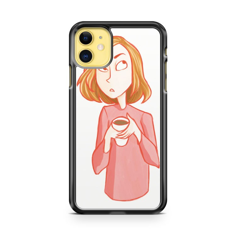 Cranky Mornings 2 iPhone 11 Case Cover | Oramicase