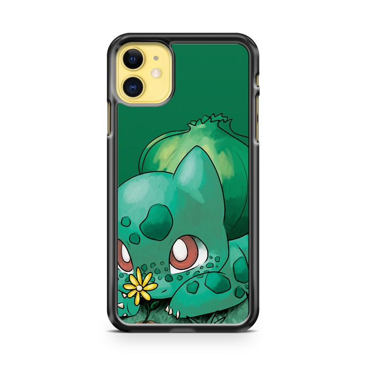 Flower For Cutie Bulbasaur Pokemon iPhone 11 Case Cover | Oramicase