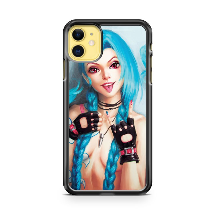 Jinx from League of Legends iPhone 11 Case Cover | Oramicase