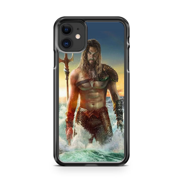 Aqua Man Justice League Jason Momoa Sexy iPhone 11 Case Cover | Oramicase