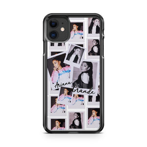Ariana Grande Photo Collages iPhone 11 Case Cover | Oramicase