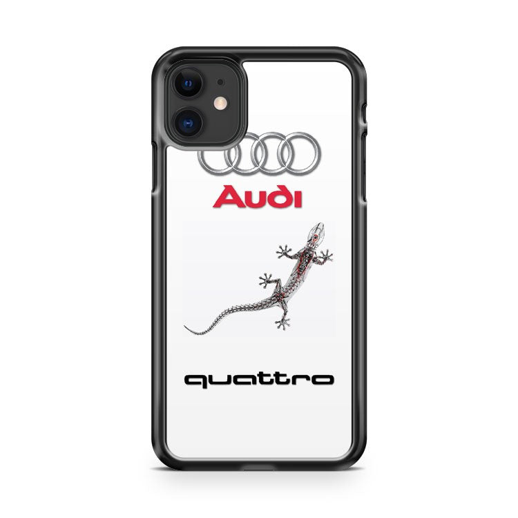 Audi Quattro Gecko iPhone 11 Case Cover | Oramicase