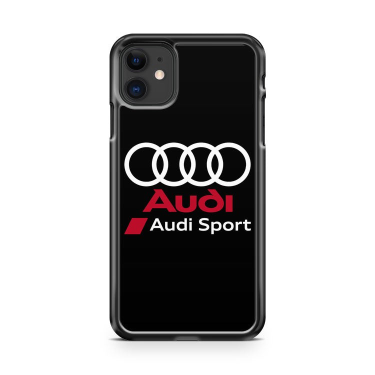 AUDI sport S line automotive racing DTM F1 iPhone 11 Case Cover | Oramicase
