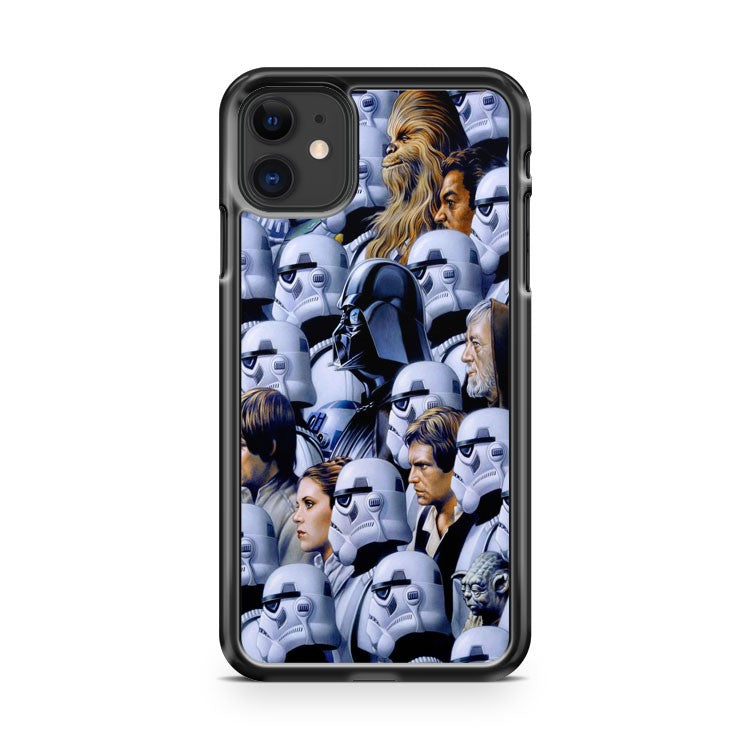 Awesome Star Wars Chacters Art iPhone 11 Case Cover | Oramicase