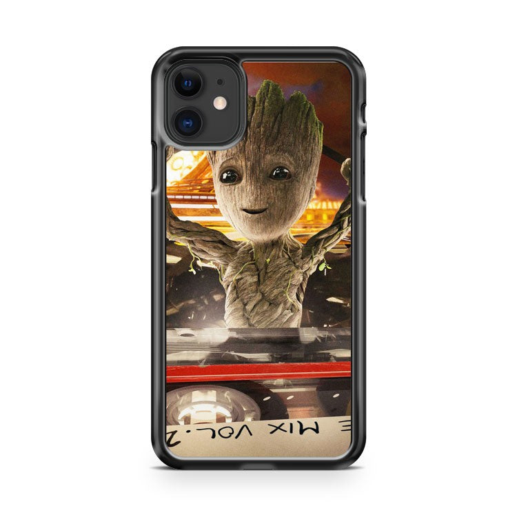 Baby Groot Guardians Of The Galaxy iPhone 11 Case Cover | Oramicase