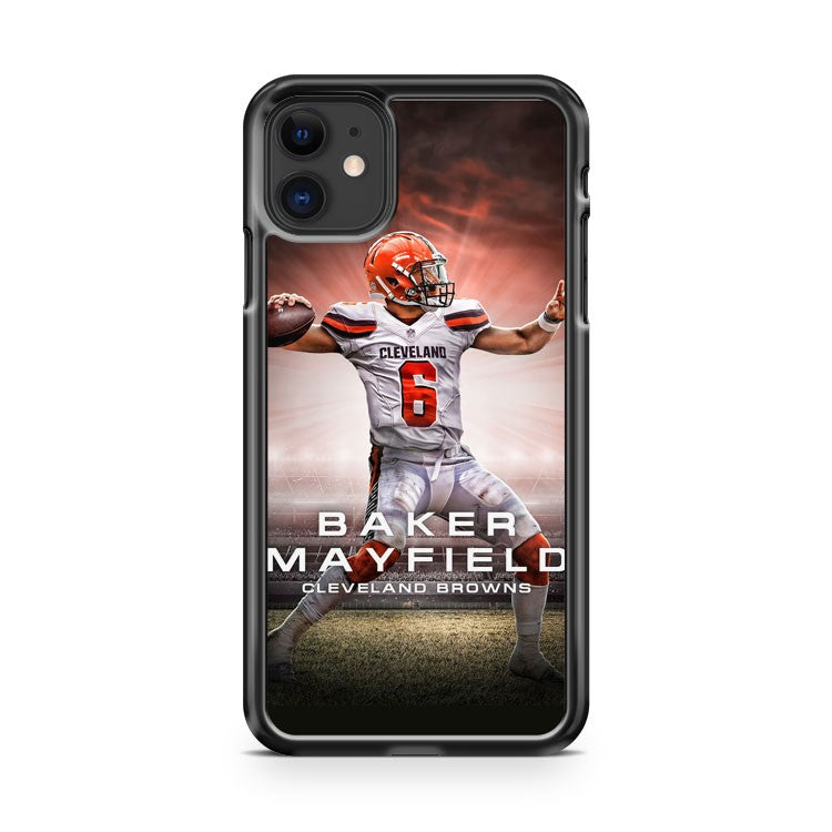 BAKER MAYFIELD CLEVELAND BROWNS 2 iPhone 11 Case Cover | Oramicase