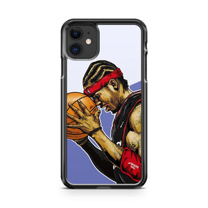 Basketball Star Allen Iverson iPhone 11 Case Cover | Oramicase