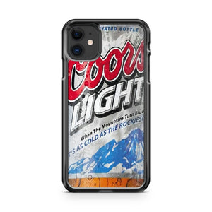 Coors Light Beer Bottle Novelty iPhone 11 Case Cover | Oramicase
