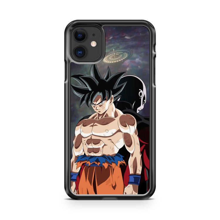Jiren and goku iPhone 11 Case Cover | Oramicase