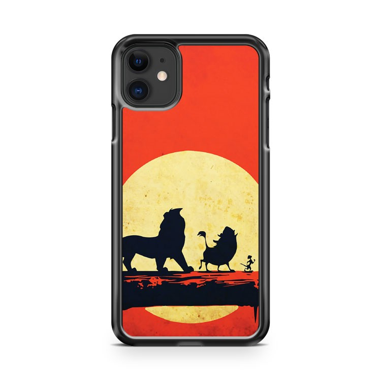 The Lion King Minimalist Poster iPhone 11 Case Cover