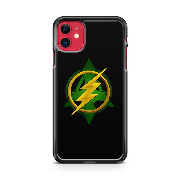 Arrow VS The Flash iPhone 11 Case Cover | Oramicase