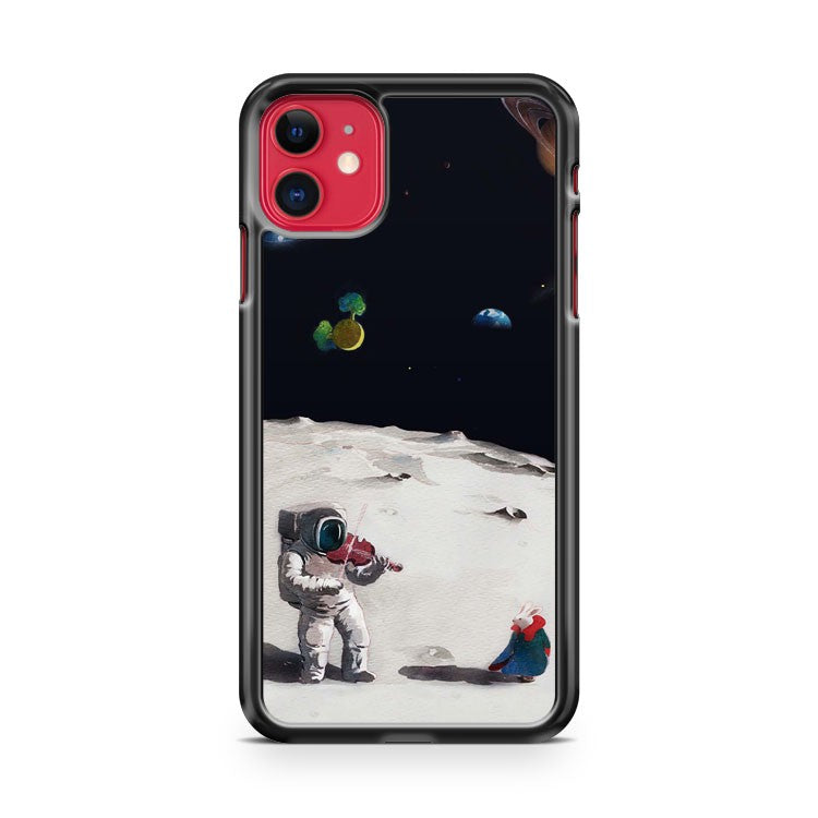Astronaut Violin In Space iPhone 11 Case Cover | Oramicase