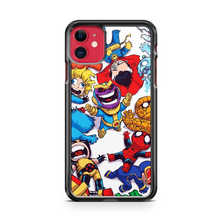 Baby Marvel The Avengers iPhone 11 Case Cover | Oramicase