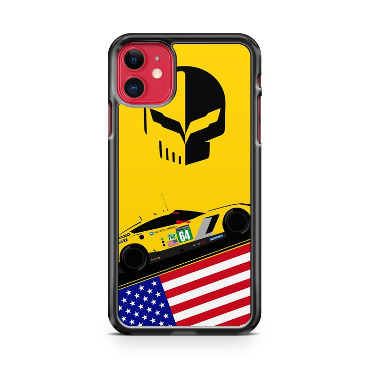 Badboyvettes America Racing iPhone 11 Case Cover | Oramicase