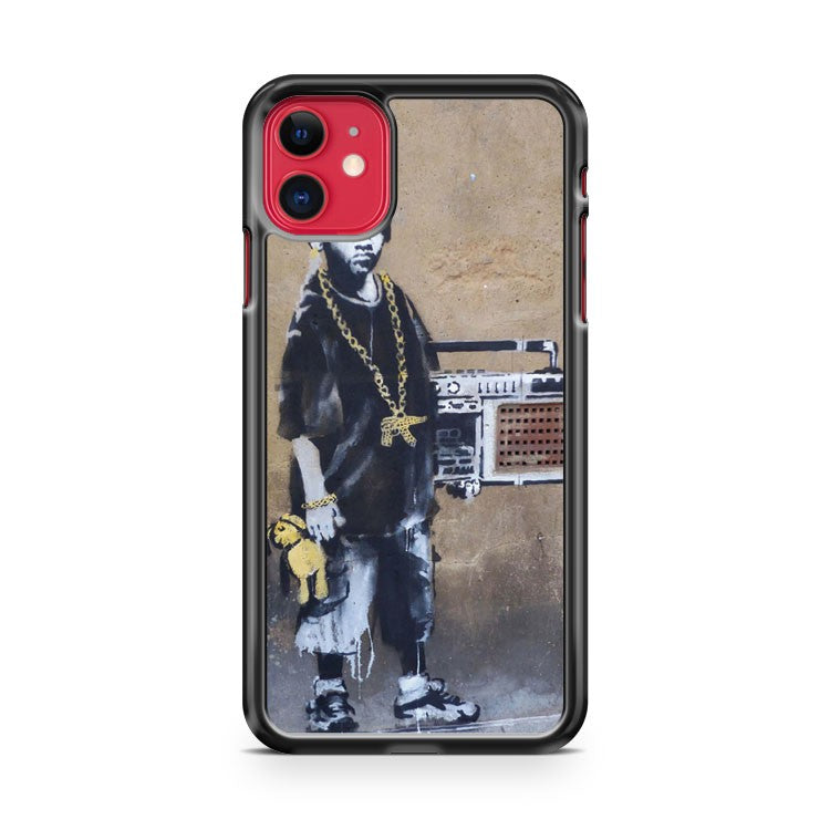 Banksy Ghetto Boy iPhone 11 Case Cover | Oramicase