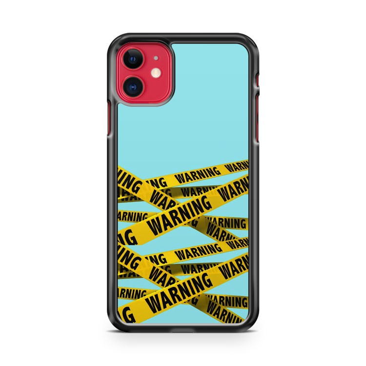 Barricade Tape iPhone 11 Case Cover | Oramicase