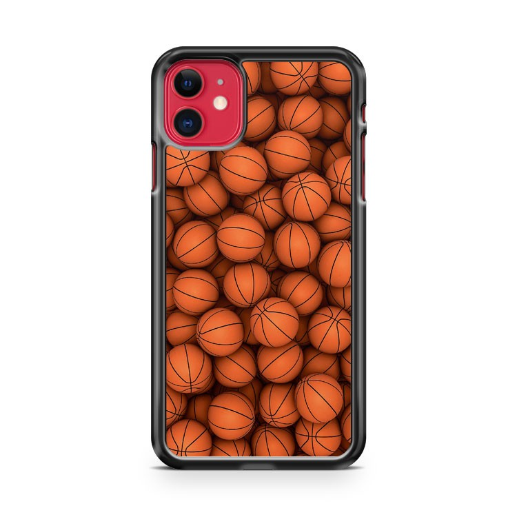 Basketballs iPhone 11 Case Cover | Oramicase