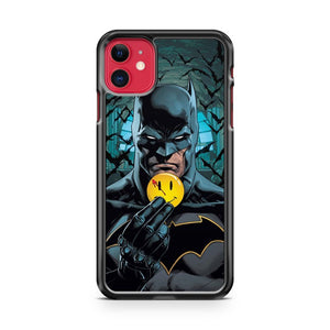 Batman And Smile Emoji iPhone 11 Case Cover | Oramicase