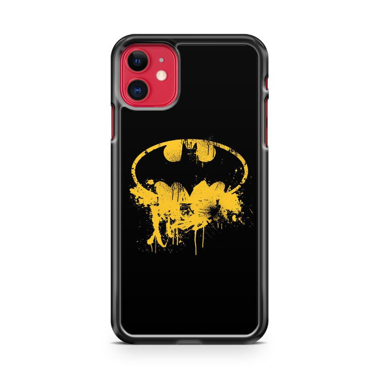 Batman Grunge Logo iPhone 11 Case Cover | Oramicase