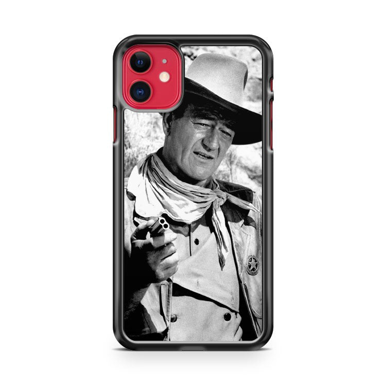 John Wayne Cowboys iPhone 11 Case Cover | Oramicase