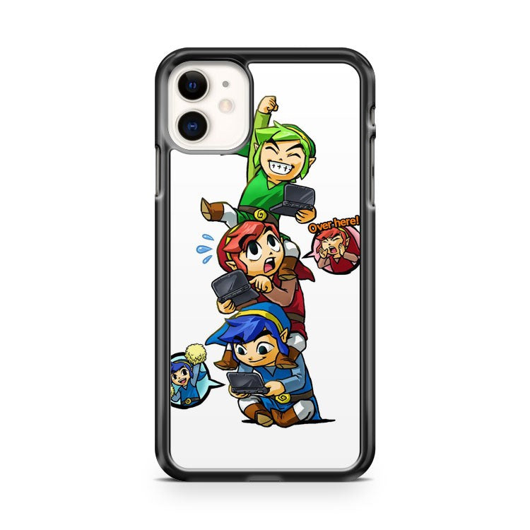 The Legend of Zelda Tri Force Heroes iPhone 11 Case Cover