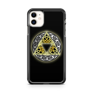 The Legends Of Zelda Celtic Triforce iPhone 11 Case Cover
