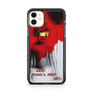 Anti By Rihanna f Drake iPhone 11 Case Cover | Oramicase