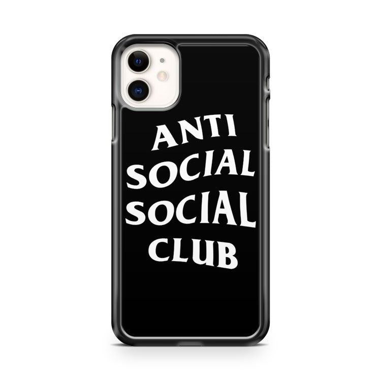 Anti Social Social Club Custom Logo Tee iPhone 11 Case Cover | Oramicase