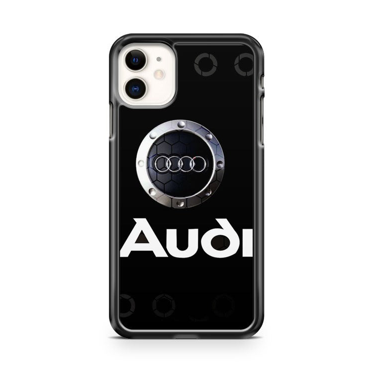 audi logo art iPhone 11 Case Cover | Oramicase