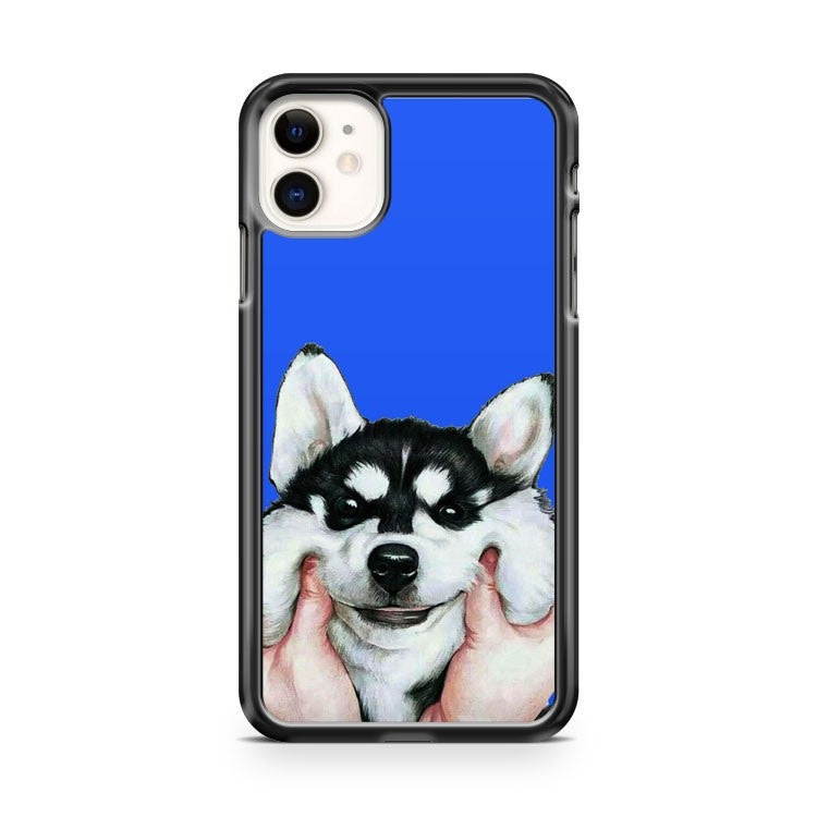 beautiful siberian husky iPhone 11 Case Cover | Oramicase