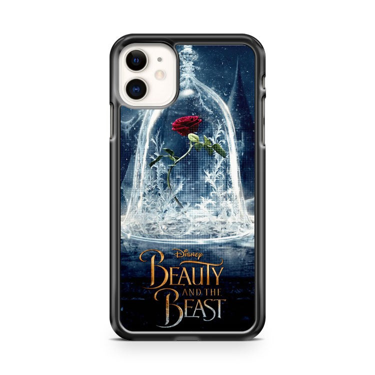 Beauty and the Beast Rose iPhone 11 Case Cover | Oramicase