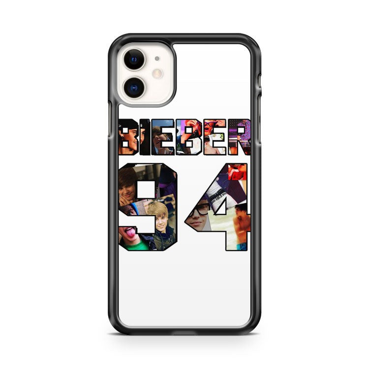 Bieber 94 collage Justin Bieber iPhone 11 Case Cover | Oramicase