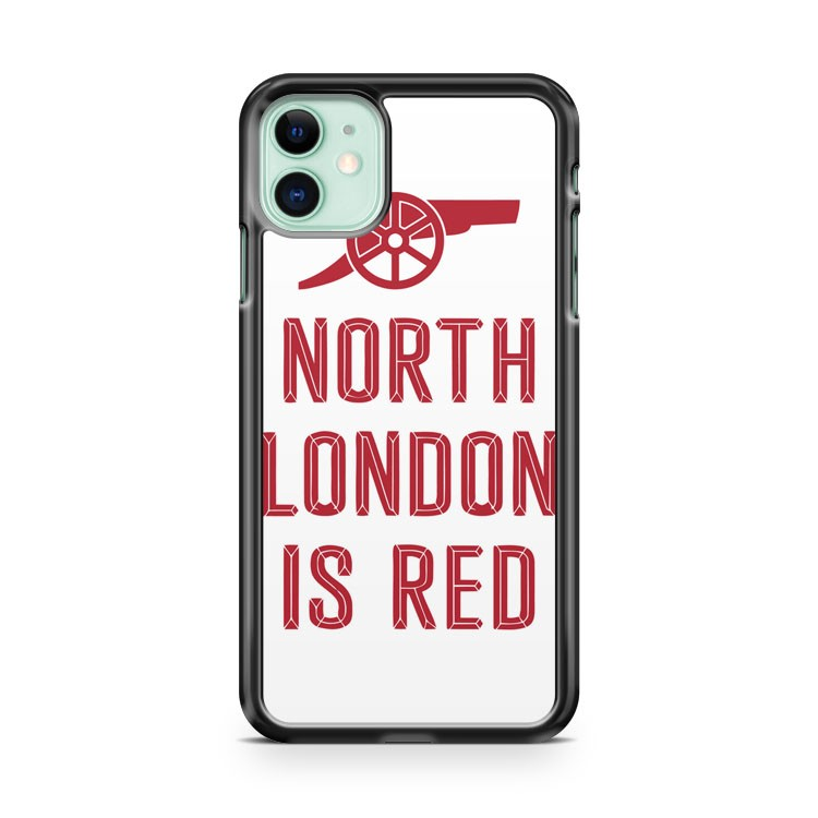 Arsenal North London is Red iPhone 11 Case Cover | Oramicase