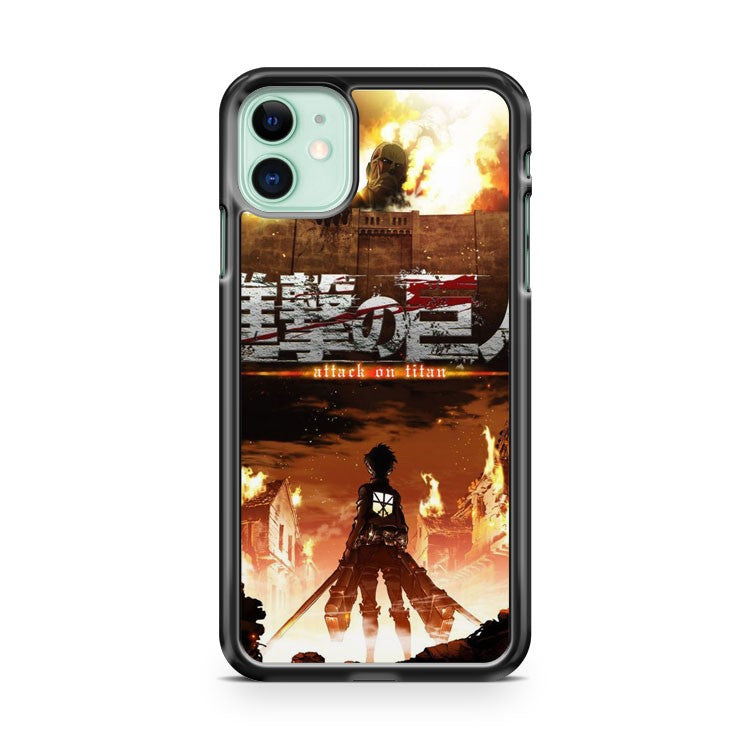 Attack On Titan Shingeki No Kyojin 2 iPhone 11 Case Cover | Oramicase