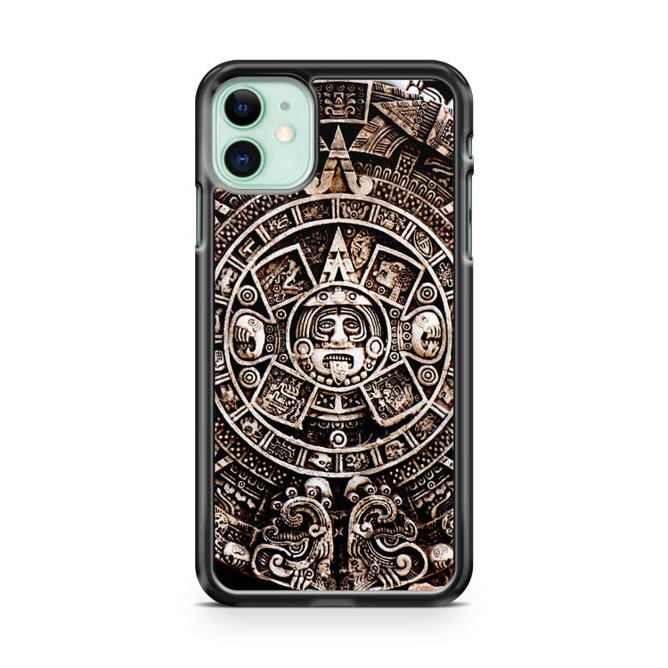 Aztec Calendar Mayan Pattern 3 iPhone 11 Case Cover | Oramicase