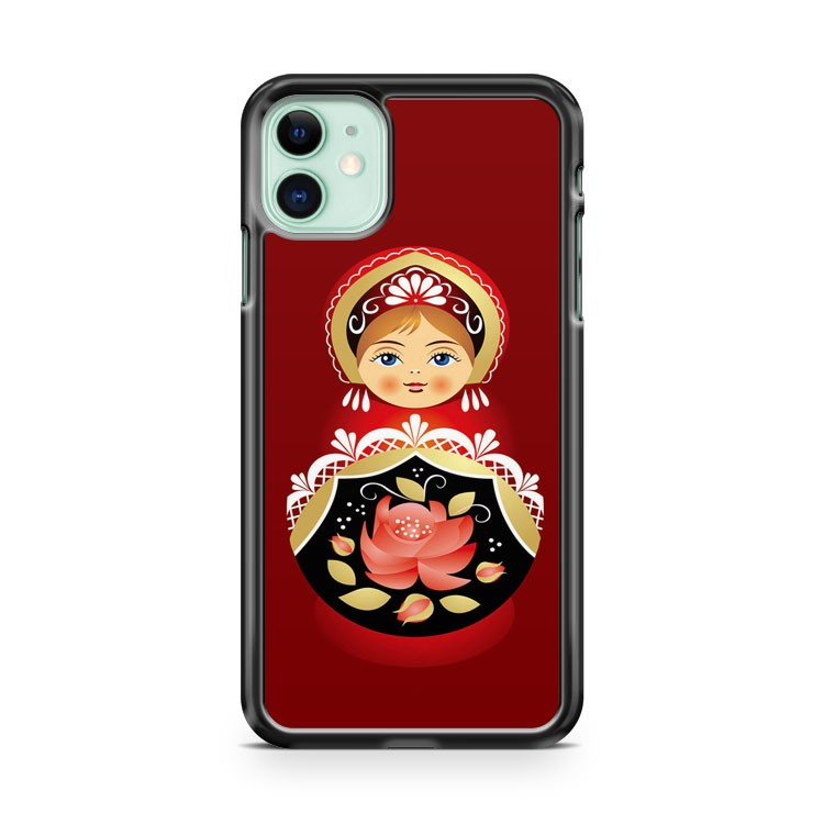 Babushka Matryoshka Russian Doll 2 iPhone 11 Case Cover | Oramicase