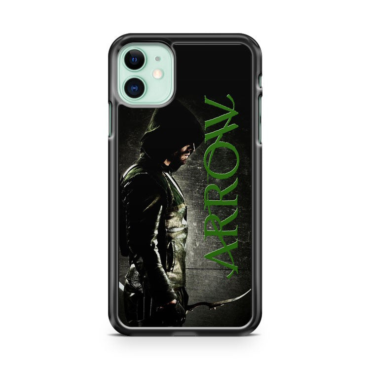 Cool Pose Green Arrow Superhero Tv Series Film 2 iPhone 11 Case Cover | Oramicase