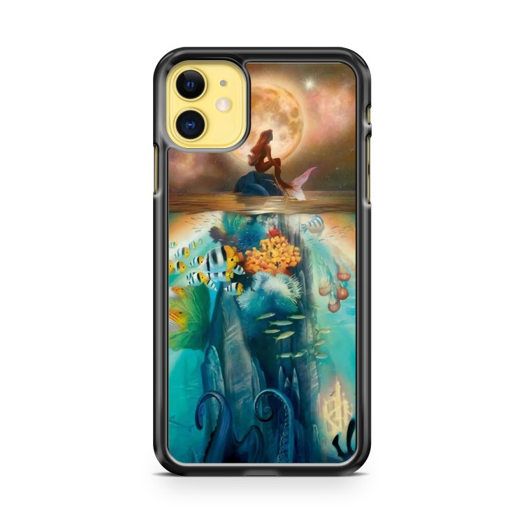 Ariel The Little Mermaid Disney Princess 2 iPhone 11 Case Cover | Oramicase