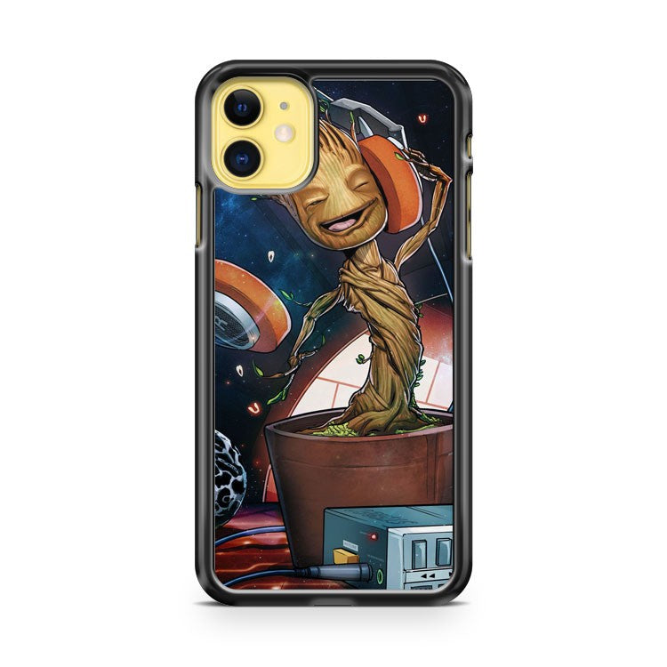 Baby Groot Cute Guardians of the Galaxy iPhone 11 Case Cover | Oramicase