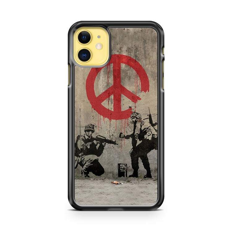 Banksy 2 iPhone 11 Case Cover | Oramicase