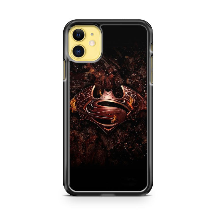Batman Versus Superman poster iPhone 11 Case Cover | Oramicase