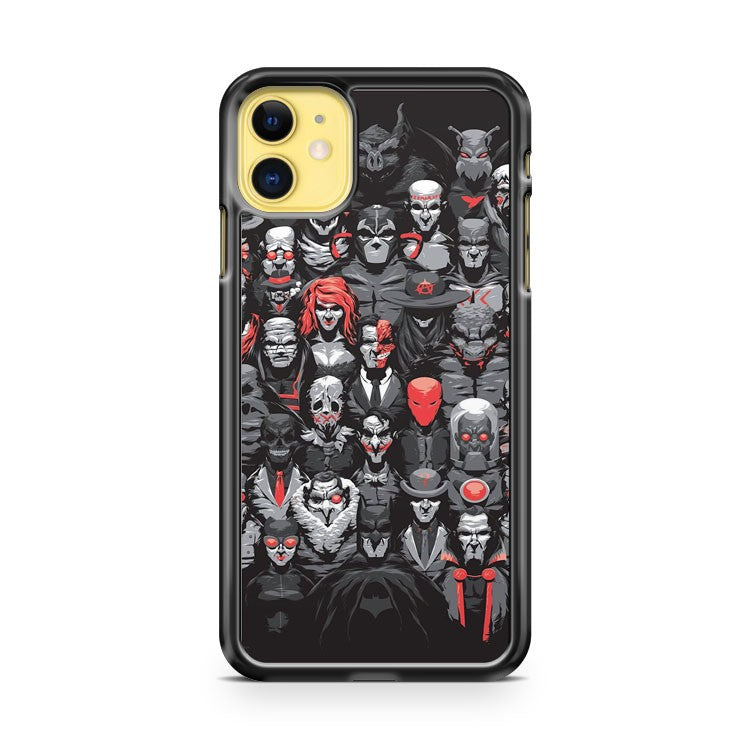Batman Vs Scarface 2 iPhone 11 Case Cover | Oramicase