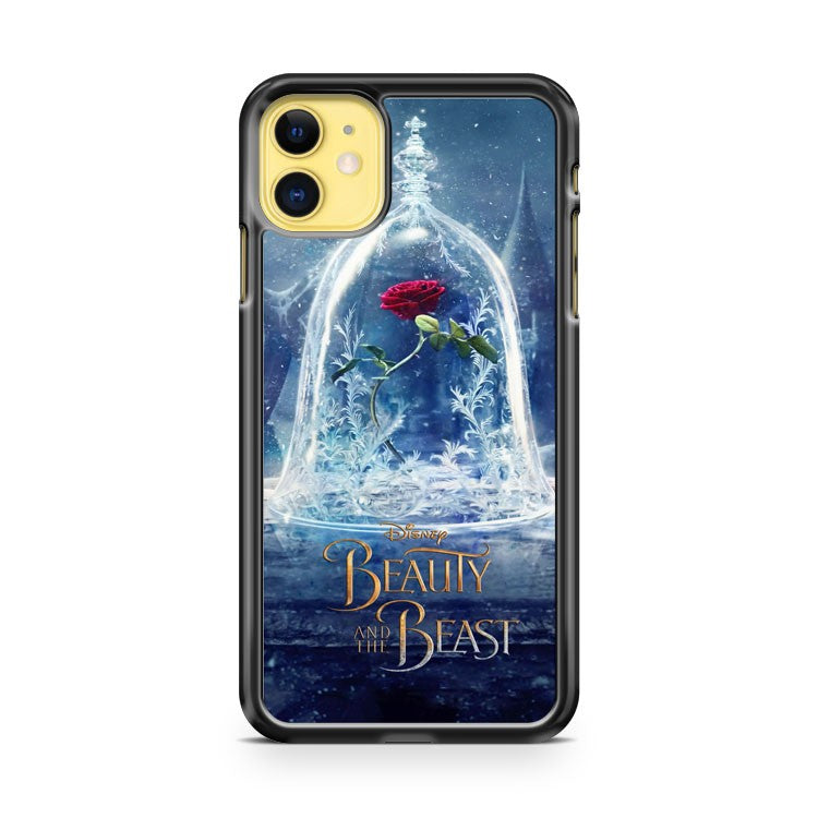 Beauty and the Beast Belle Rose Disney iPhone 11 Case Cover | Oramicase